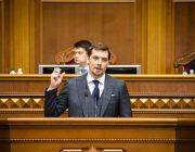 Сарвазири Украина ба истеъфо рафт