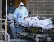 Прощание с усобшими от коронавируса