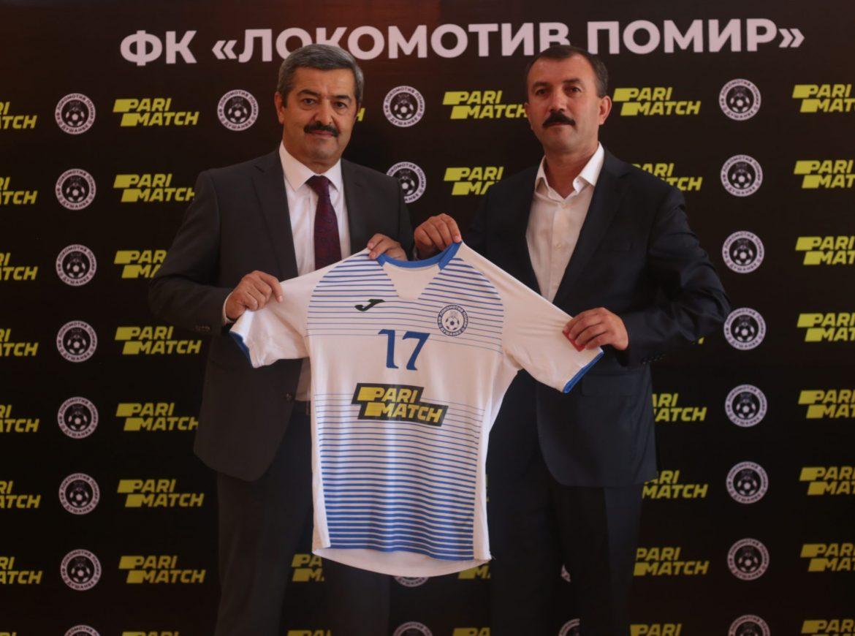 «Parimatch» — шарики стратегии дастаи футболи «Локомотив Помир»