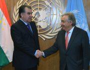 Проект от ООН в Таджикистане