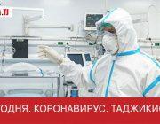 Коронавирус Covid-19, в Таджикистан на сегодня (25 Сентября 2020 года)
