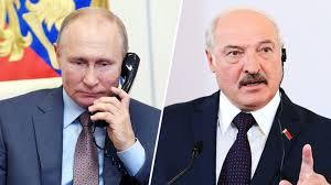 Владимир Путин пригласил Александра Лукашенко в Россию