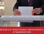 Представители СНГ приступили к мониторингу выборов в Таджикистане