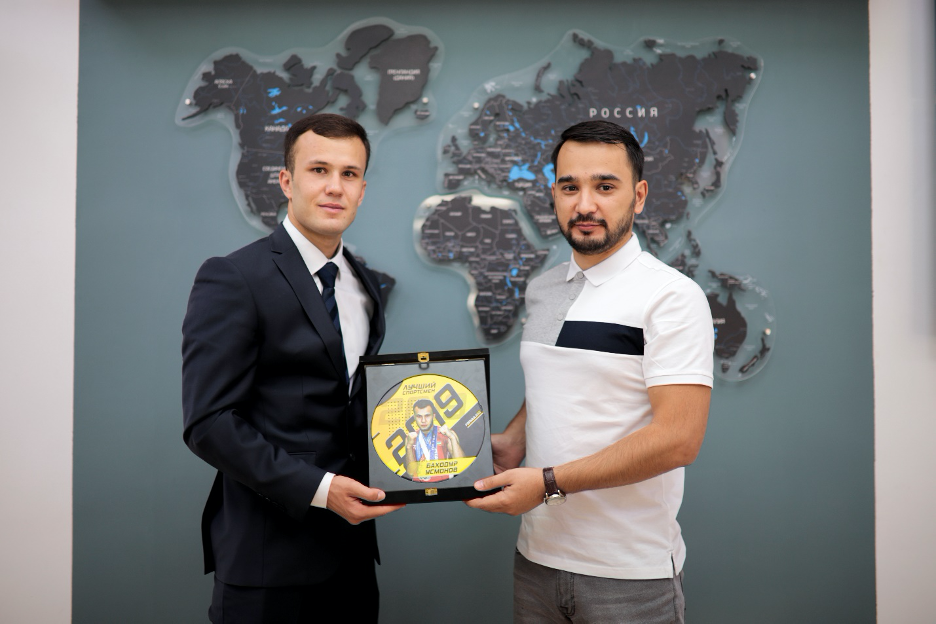 Баходур Усмонов – «Лучший Спортсмен Года» по версии «Formula55»