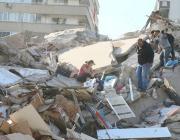 Заминҷунбии 7 — бала дар Измир, одамон  ҳалок шуданд (видео)