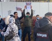 В Москве силовики разгоняли митинг мусулманов