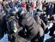 Полиси Русия ҷонибдорони Навалнийро боздошт кард