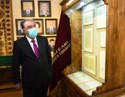 Эмомали Рахмон и Рустам Эмомали открыли корпус ВУЗа и музей Лидера нации